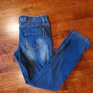 Mossimo Premium Mid-Rise Skinny Denim Jeans